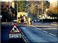 H4572 : Road marking, Omagh by Kenneth  Allen