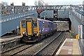 SJ3987 : Northern Rail Class 156, 156452, Mossley Hill railway station by El Pollock