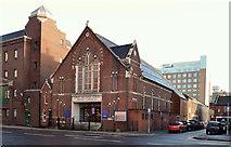 J3373 : Gt Victoria Street Baptist Church, Belfast - January 2014 (1) by Albert Bridge