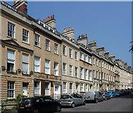 ST7465 : 1-15 St James's Square, Bath by Stephen Richards
