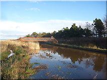NT6578 : Coastal East Lothian : Cycling Across The Biel Water by Richard West