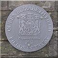 NT2470 : Queen Elizabeth Field Plaque by M J Richardson