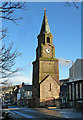 NX1898 : Girvan's Stumpy Tower by Mary and Angus Hogg