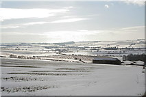 TF2880 : Cawkwell Hill in the cold February of 2009 by Chris
