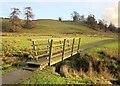 SE0062 : Footbridge on Dales Way by Derek Harper