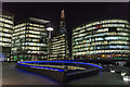 TQ3380 : Office Development, London SE1 by Christine Matthews