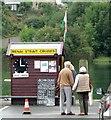 SH4762 : Cruise seller's hut, Caernarfon by nick macneill
