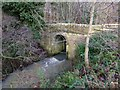 NU2113 : Old bridge over Denwick Burn by Russel Wills