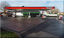 ST2888 : Texaco filling station and Co-operative Food store in High Cross, Newport by Jaggery