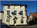TL8741 : The Prince of Wales, Prince Street / New Street, CO10 by Mike Quinn