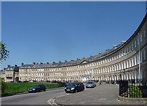 ST7465 : Lansdown Crescent, Bath (2) by Stephen Richards