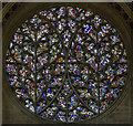 SK9771 : Bishop's Eye Window (S35), Lincoln Cathedral by J.Hannan-Briggs