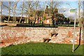 SO8530 : Footpath and Chaceley Court by Philip Halling