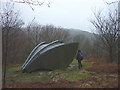 SD3491 : 'The Arrival', a sculpture at Grizedale Forest by Karl and Ali