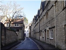 SP0202 : Coxwell Street Cirencester looking towards Dollar Street by Paul Best