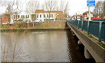 J3472 : The Ormeau Bridge, Belfast - January 2014 by Albert Bridge