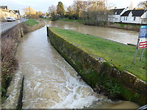 TF1409 : Former lock on The River Welland, Deeping Gate by Richard Humphrey