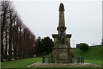 TR1457 : South African War Memorial, Canterbury by Peter Trimming