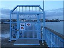 TQ7568 : Blue Gate, Sun Pier by David Anstiss