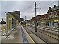 SD9305 : Metrolink Stop, Oldham Mumps by David Dixon
