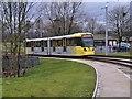 SD9105 : Tram Leaving Westwood by David Dixon
