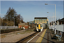 TR1458 : Canterbury West Railway Station by Peter Trimming