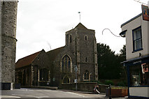 TR1458 : Holy Cross Church, Canterbury by Peter Trimming