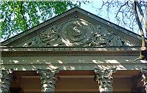ST7565 : Detail of Minerva's Temple, Sydney Gardens, Bath by Stephen Richards