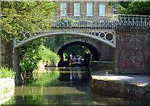 ST7565 : Footbridge, Sydney Gardens, Bath (2) by Stephen Richards