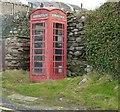 SX3553 : K6 Red Telephone call box, Portwrinkle by Rob Farrow