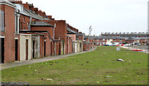 J3272 : Vacant site, The Village, Belfast - January 2014 (1) by Albert Bridge