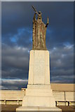 NS3230 : War Memorial, Troon by Billy McCrorie
