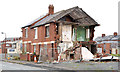 J3272 : Surviving houses, The Village, Belfast by Albert Bridge