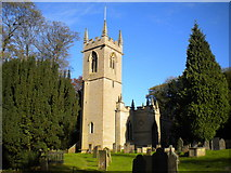 SK5451 : Church of St James, Papplewick by Richard Vince