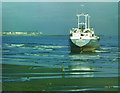 NZ5229 : MV Anne beached at Seaton Carew by Fred Howard