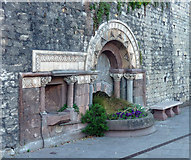 ST7565 : Ladymead Fountain, Walcot Street, Bath by Stephen Richards