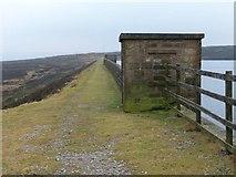SD9839 : Millennium Way, Keighley Moor Reservoir by Christine Johnstone