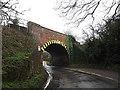 TM2547 : Railway Bridge on Sandy Lane by Adrian Cable