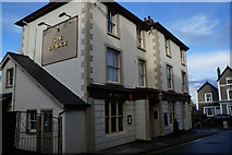SH7877 : The Bridge Hotel, Rose Hill, Conwy by Ian S