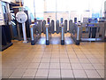 TQ1678 : The ticket barrier at Boston Manor Station by David Howard