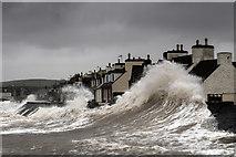 NX3343 : Storm surge by David Baird