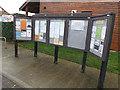 TM2145 : Kesgrave Village Notice Board by Adrian Cable