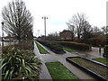TM2145 : Kesgrave Guided Busway by Adrian Cable