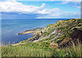 TA0586 : Wheatcroft Cliff towards White Nab by Scott Robinson