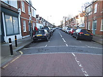 TQ2572 : Clonmore Street, Southfields by David Howard