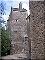 SX8664 : The Interior Towers of Compton Castle by Jeff Buck