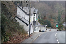 SH7357 : Cobdens Hotel on the A5 by Ian S