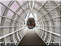 SJ3390 : Footbridge over the Princes Dock by William Starkey