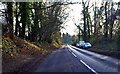 TQ6643 : B2160 south of Paddock wood by J.Hannan-Briggs