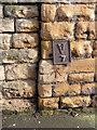 SK5539 : Bench mark, Lenton Boulevard by Alan Murray-Rust